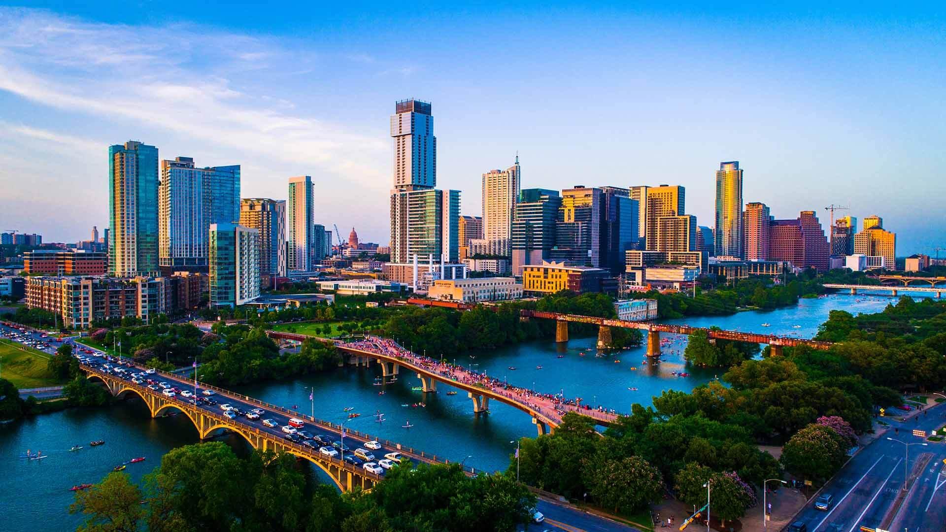 Austin Skyline Overhead