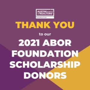 Fou Scholarship Donor Thank You