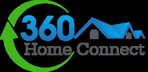 360 Logo Transparent Grey Text