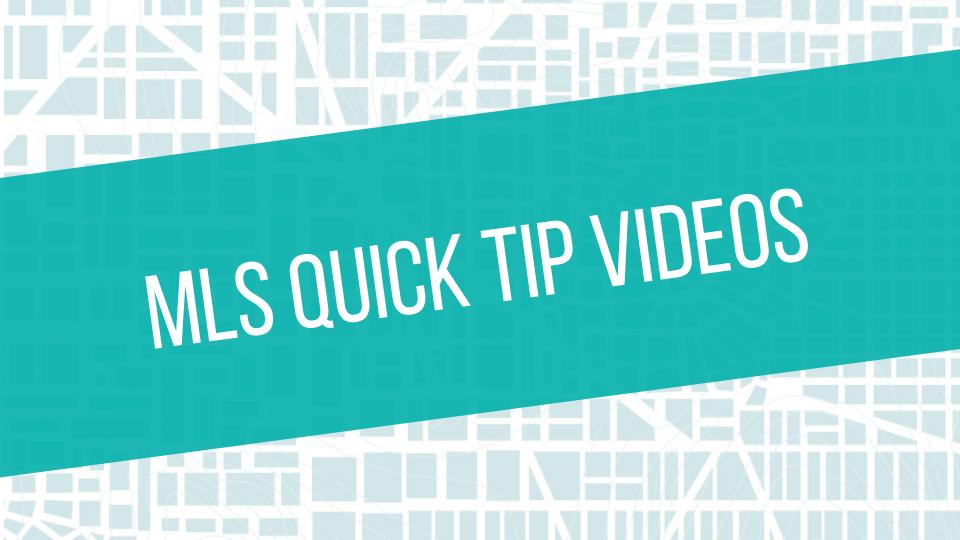 MLS Quick Tip Tile